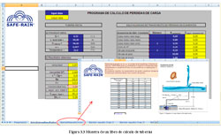Excel hydraulic calculations