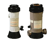 Dry fountains Chlorine dispenser