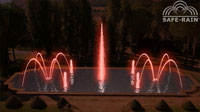 3D fountain animation