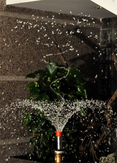 hese perfectly formed, revolving drops of water mean , that you don ...
