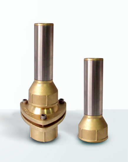 Lance Jet III with and without joint manufactured in brass and stainless steel