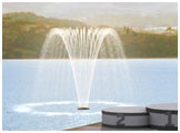 Willow tree jet fountain nozzle