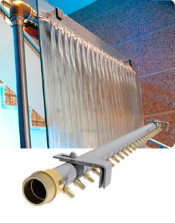 Muro de agua - Como construir una cortina de agua ...