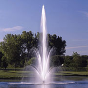 Fleur de Lis floating fountain
