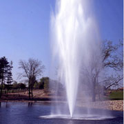 Lakes floating fountains. Scepter